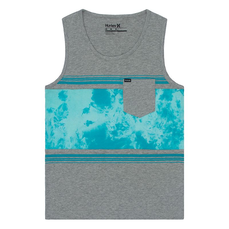 Boys 4-7 Hurley Colorblocked Cloud Graphic Tank