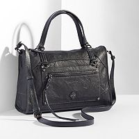Simply Vera Vera Wang Capri Leather Satchel