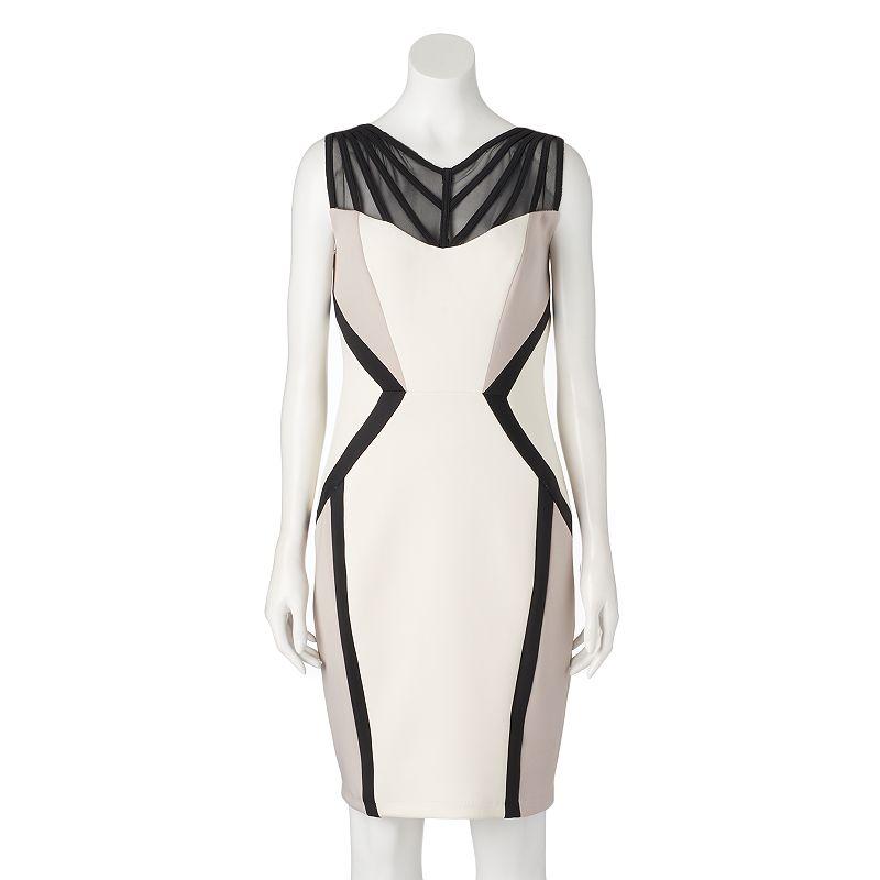 Women's Jax Illusion Sheath Dress