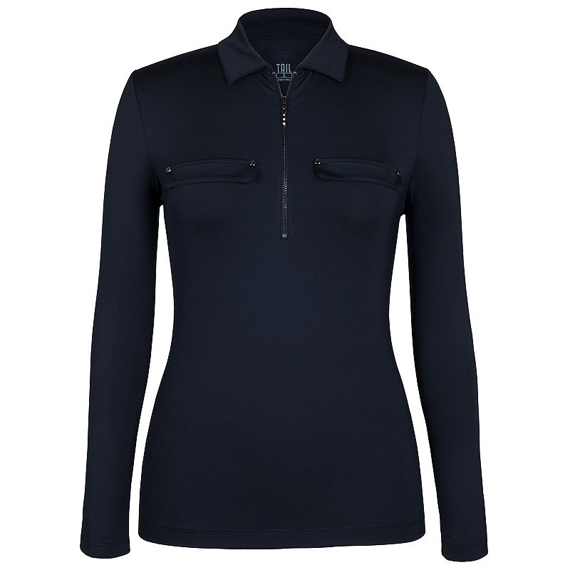Women's Tail Eclectic Beauty Luz Quarter-Zip Golf Polo