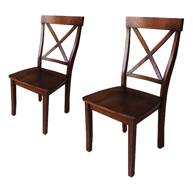 Sonoma goods for life 2 piece x back dining room chair for 2 piece dining room set