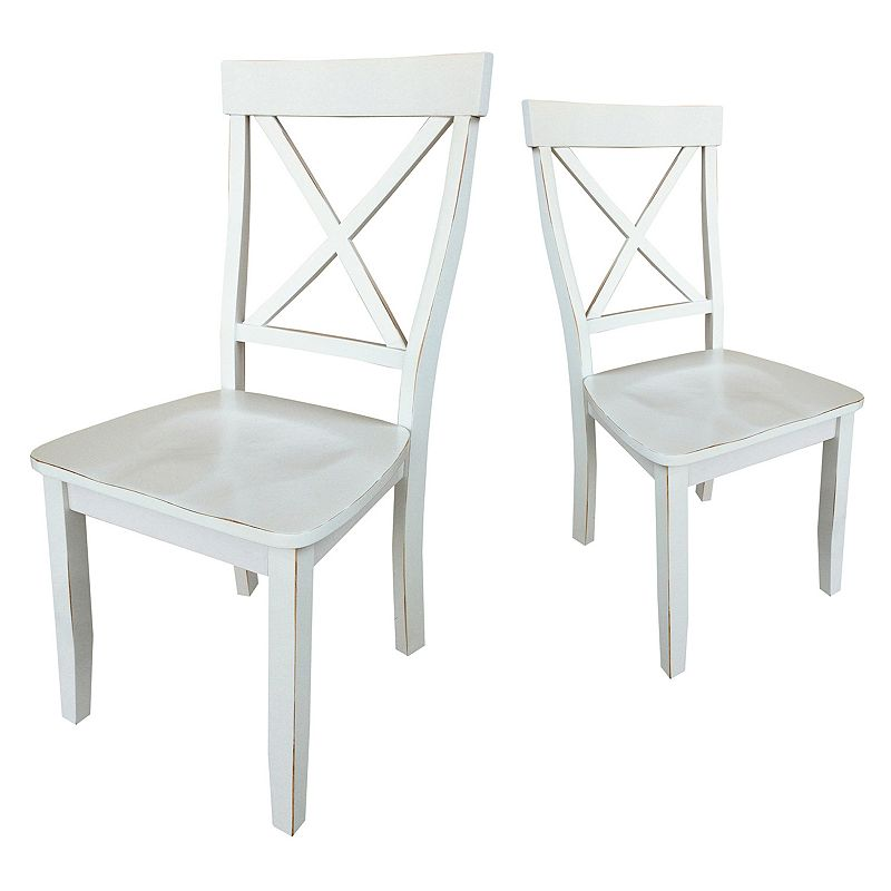 SONOMA Goods for Life™ 2-piece X-Back Dining Room Chair Set