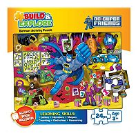 Buffalo Games 24-pc. Build & Explore Trouble in the Batcave Jigsaw Puzzle