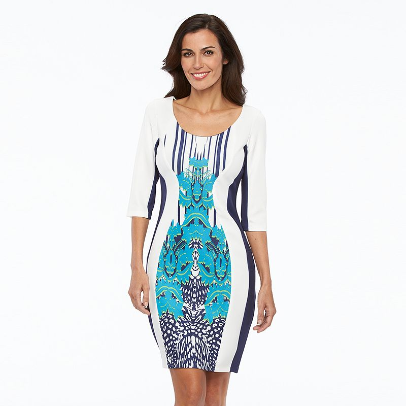 Women's Chaya Scroll Sheath Dress