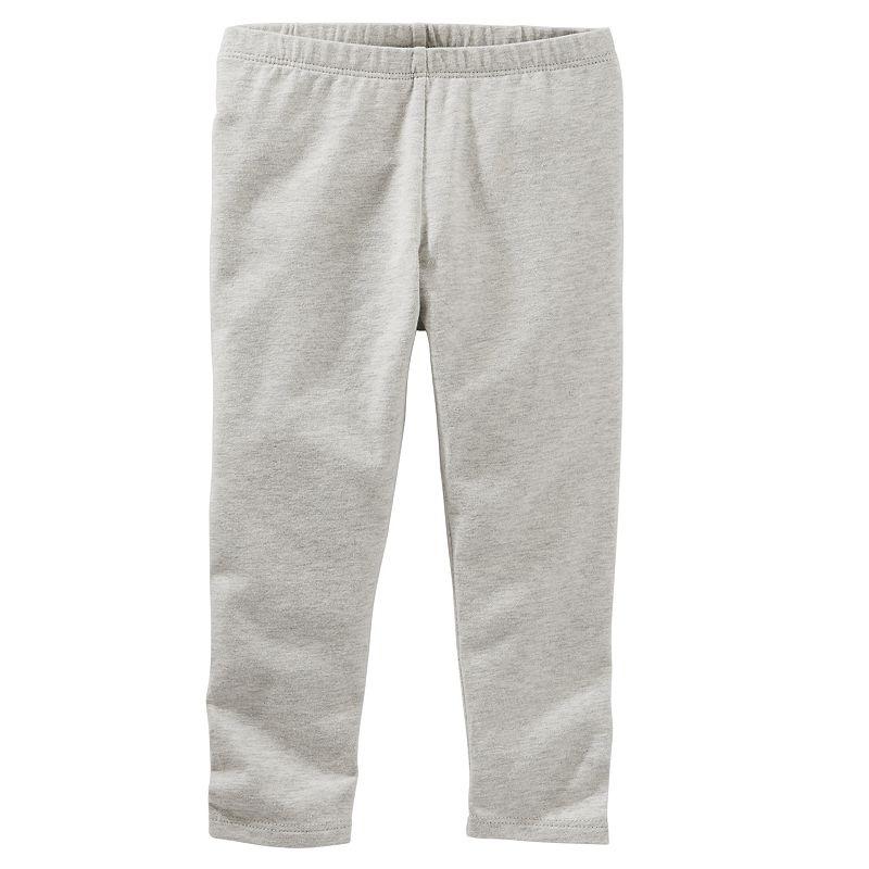 Toddler Girl OshKosh B'gosh® Garment-Dyed Solid Capri Leggings
