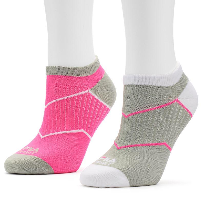 Women's FILA SPORT® 2-pk. Textured Low Cut Socks