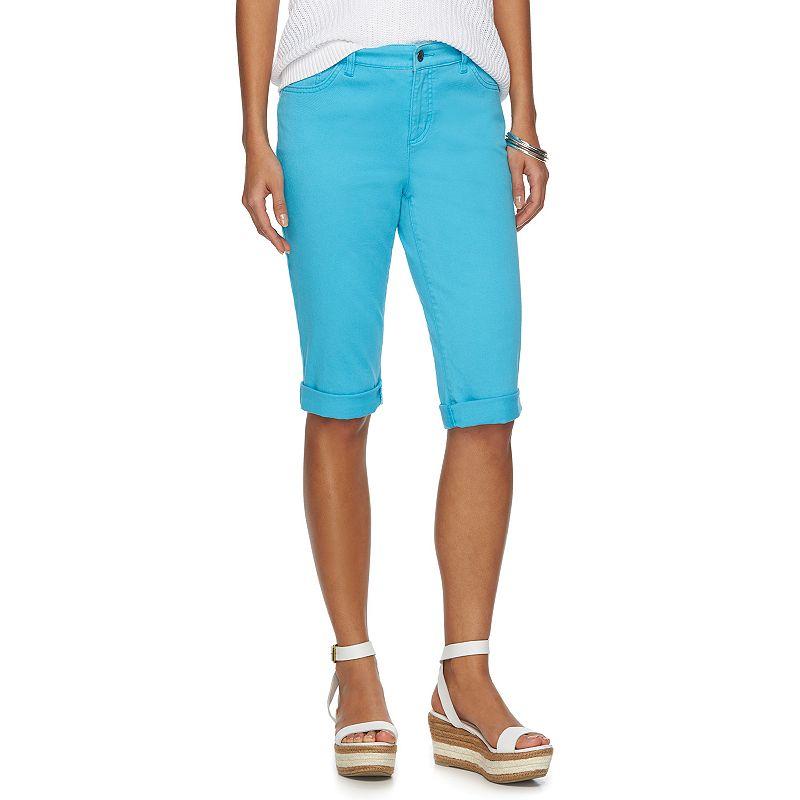 Women's Chaps Modern Fit Bermuda Shorts