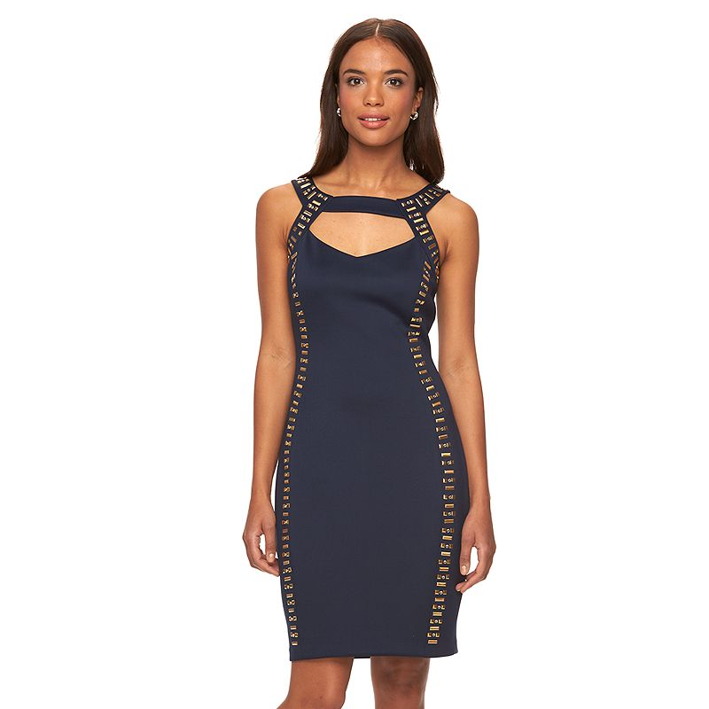 Women's Chaya Studded Cut-Out Sheath Dress