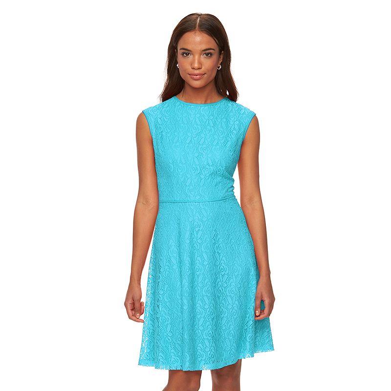 Women's Suite 7 Lace Fit & Flare Dress