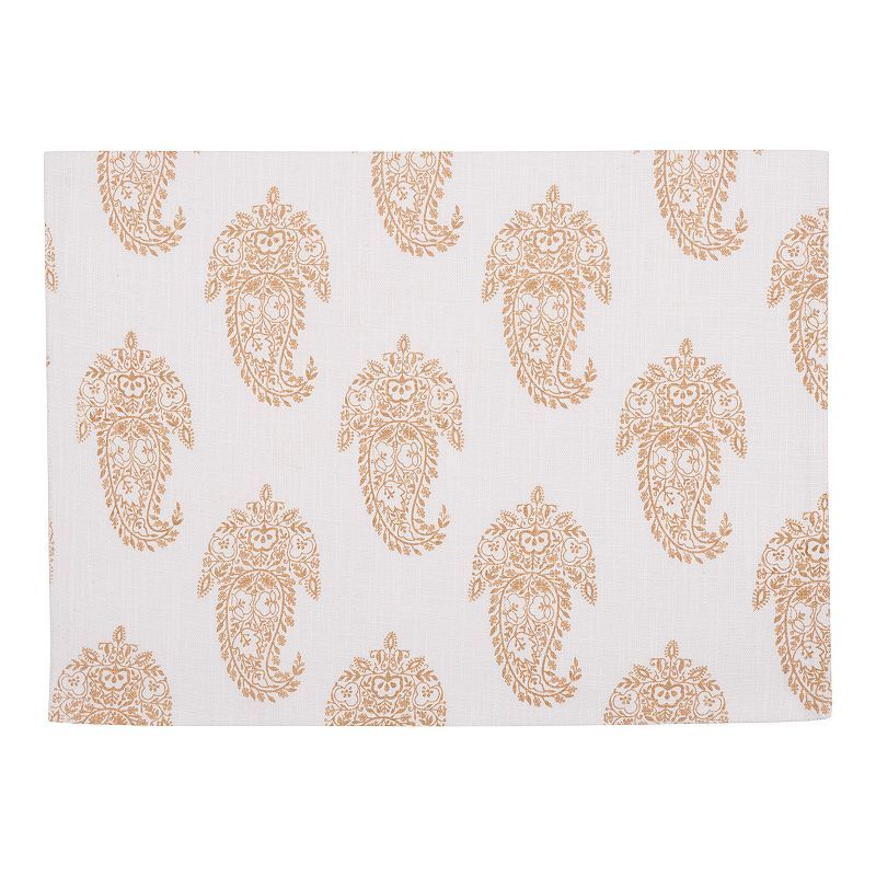 Rani Paisley 4-pc. Placemat Set