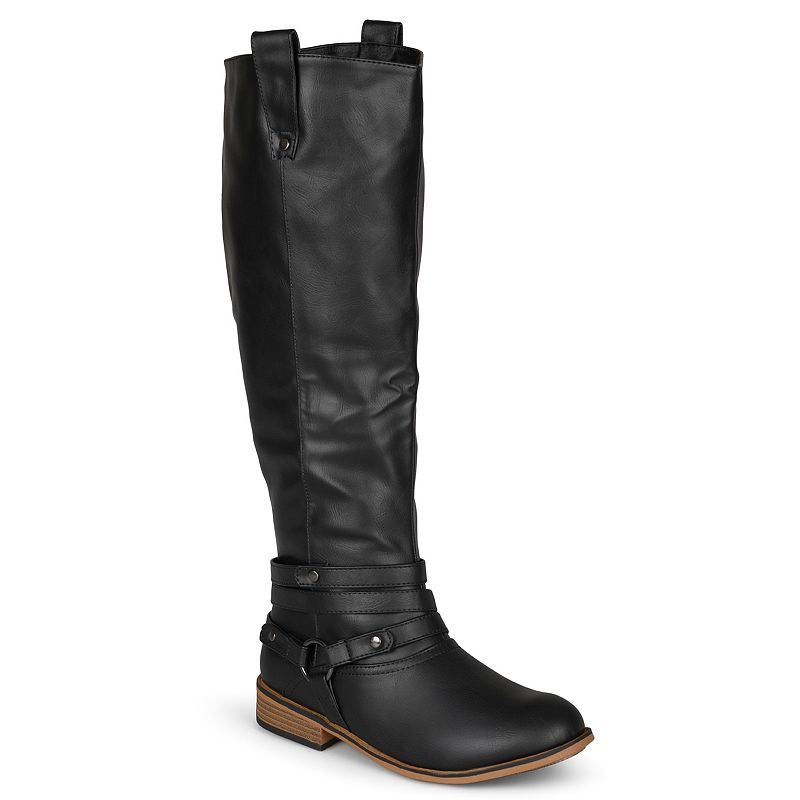 Journee Collection Walla Women's Extra Wide Calf Boots