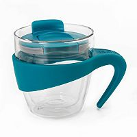 La Cafetiere Signature 12-oz. Glass Travel Mug
