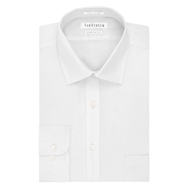 Big & Tall Van Heusen Classic-Fit Flex Collar Dress Shirt