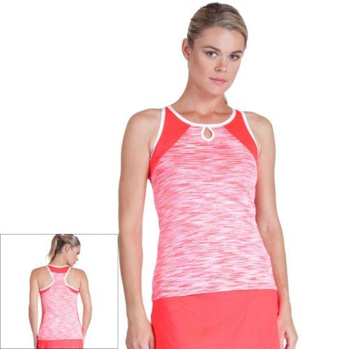 Women's Tail Space-Dye Racerback Tennis Tank