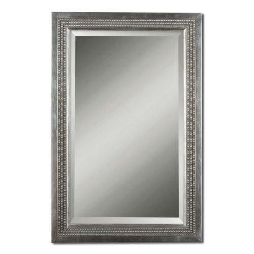 Triple Beaded Vanity Wall Mirror