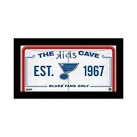 Steiner Sports St. Louis Blues 10