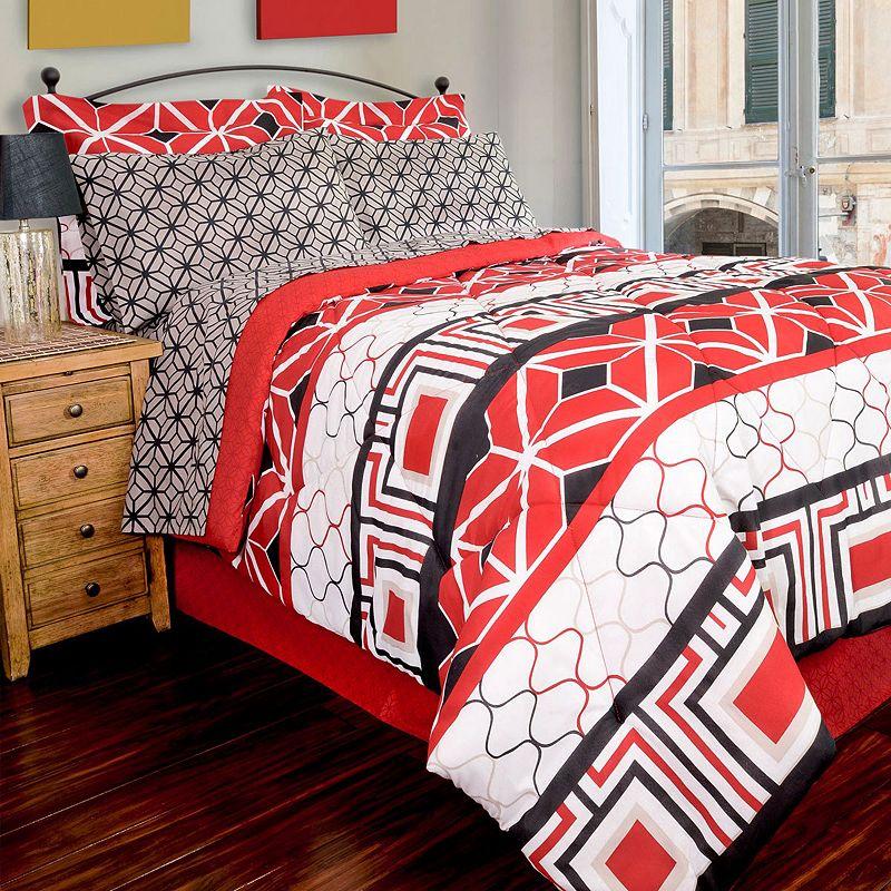 Geo 8-piece Comforter Set
