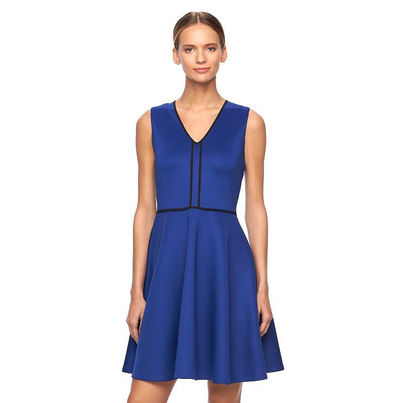 Women's REED Scuba Fit & Flare Dress