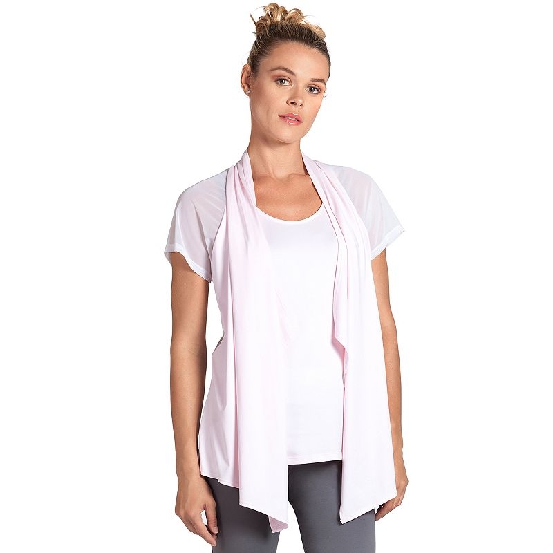 Women's Tail Mock-Layer Yoga Top