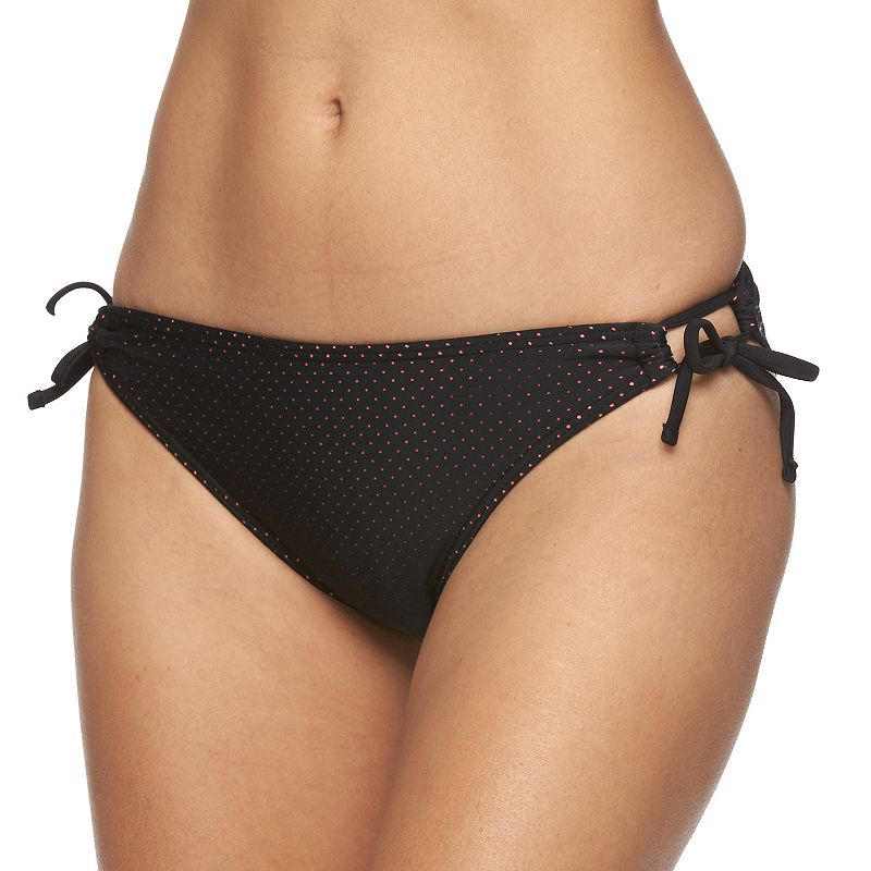 Juniors' In Mocean Laser-Cut Bikini Bottoms