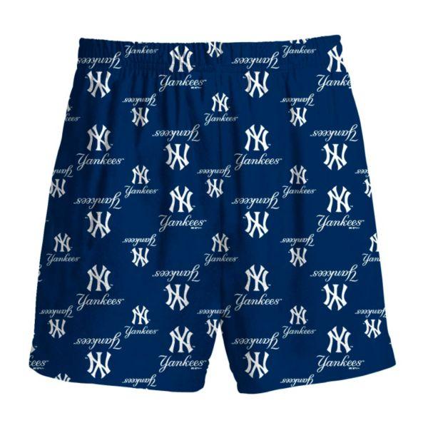 Boys 8-20 Majestic New York Yankees Team Logo Lounge Shorts