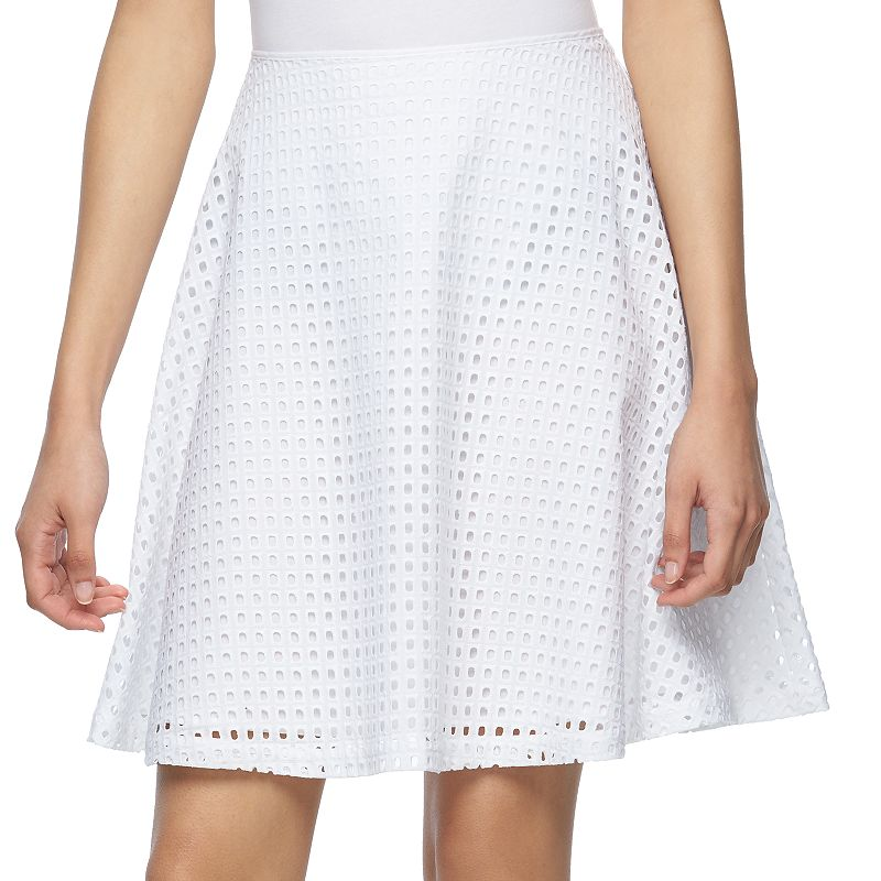 Women's REED Eyelet A-Line Skirt