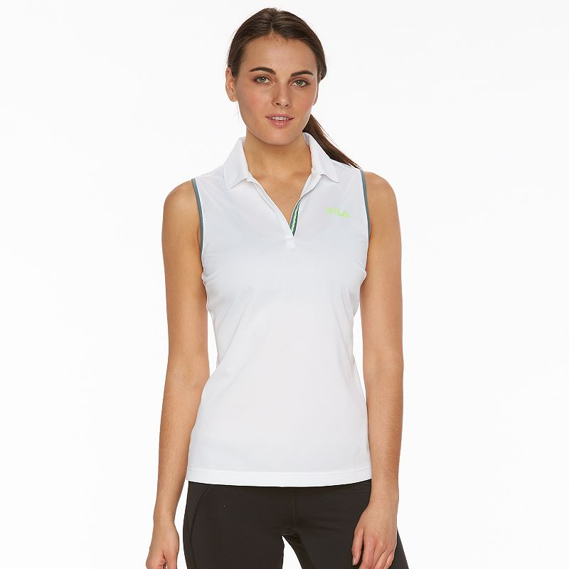 Women's FILA SPORT® Linear Sleeveless Golf Polo