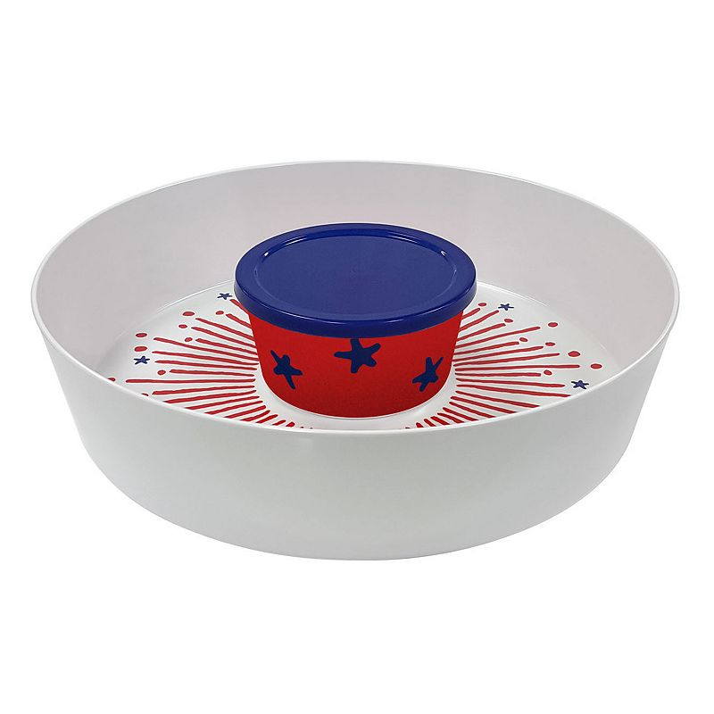 Americana Chip 'N Dip Serving Platter