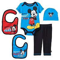 Disney's Mickey Mouse Baby Boy 5-pc. Layette Gift Set