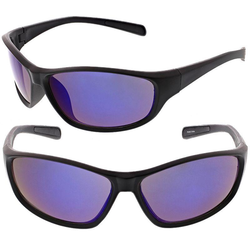 Men's Tek Gear® Rectangular Wrap Sunglasses