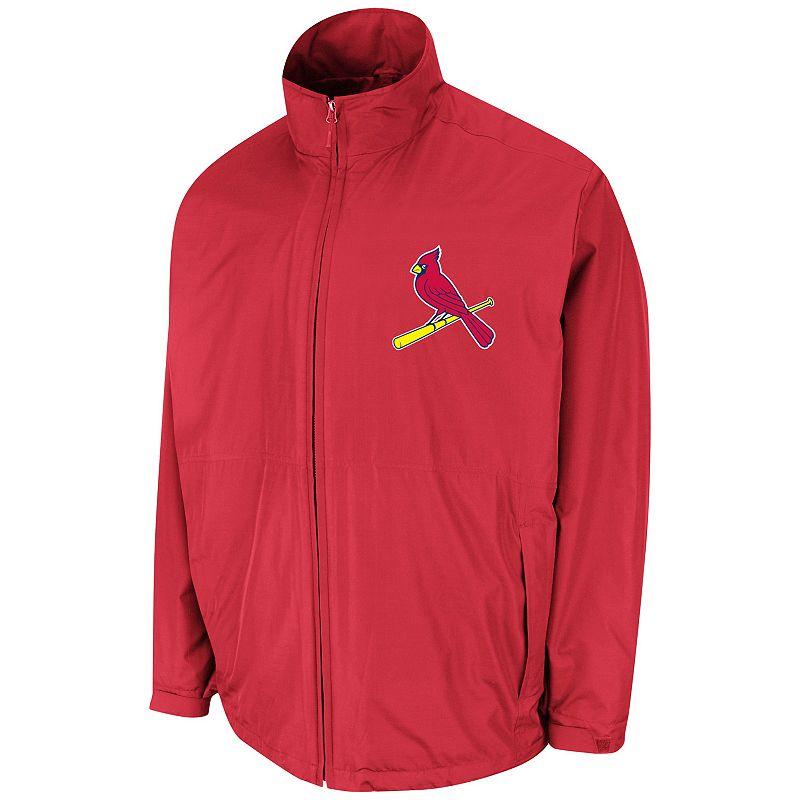Men's Majestic St. Louis Cardinals Triple Climate 3-in-1 On-Field Jacket
