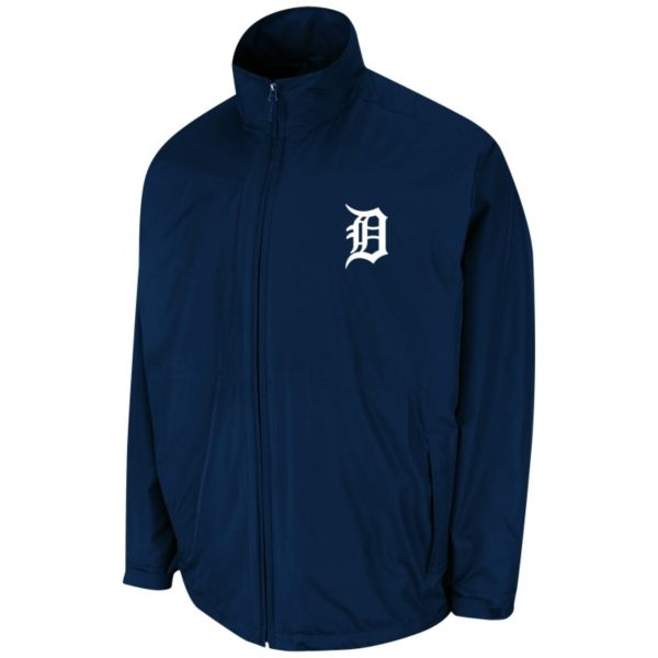 Men's Majestic Detroit Tigers Triple Climate 3-in-1 On-Field Jacket