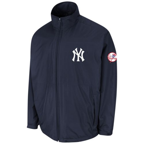 Men's Majestic New York Yankees Triple Climate 3-in-1 On-Field Jacket