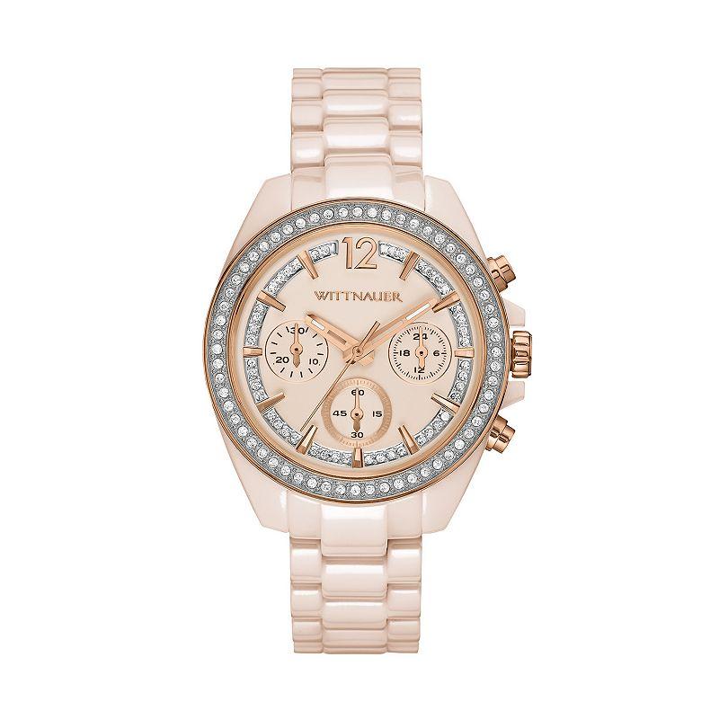 Wittnauer Women's Crystal Ceramic Chronograph Watch - WN4072