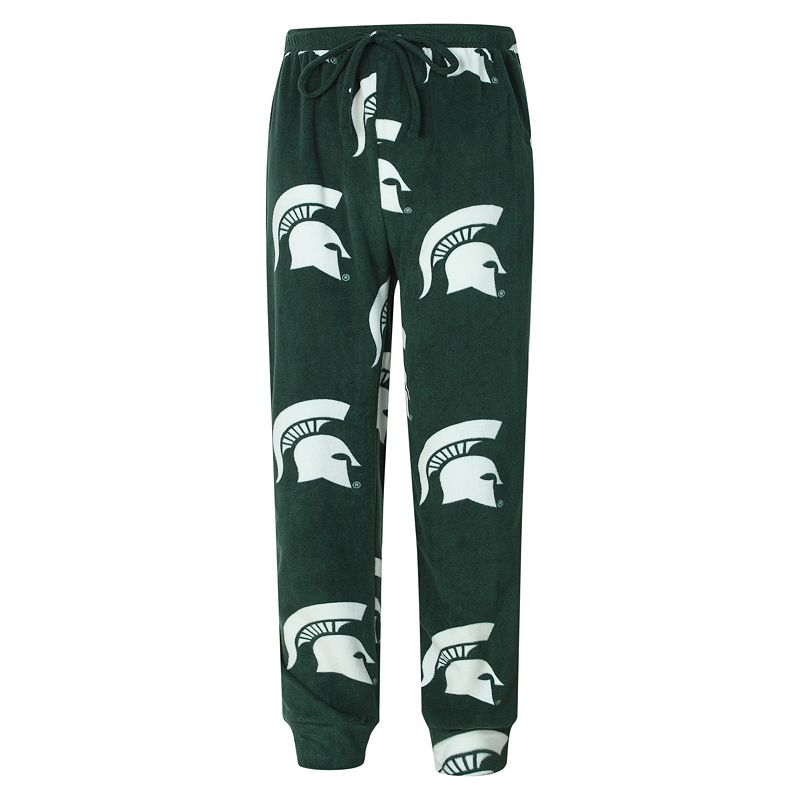 Men's Michigan State Spartans Fleece Jogger Lounge Pants