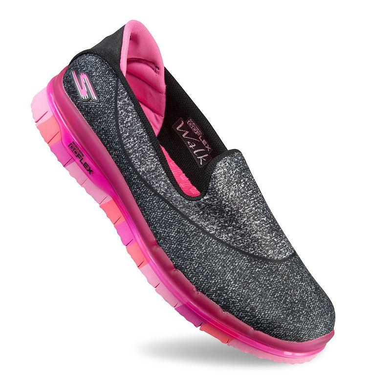 Skechers GO FLEX Walk Girls' Slip-On Shoes