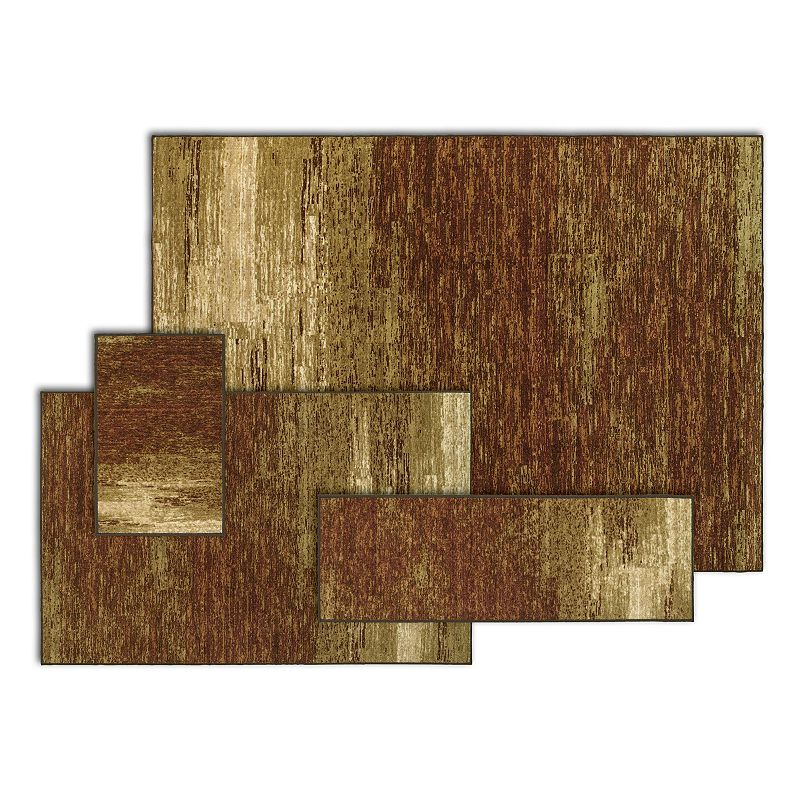 StyleHaven Stonemont Ombre Shades 4-pc. Rug Set