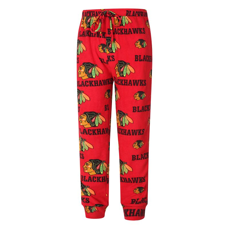 Men's Chicago Blackhawks Fleece Jogger Lounge Pants