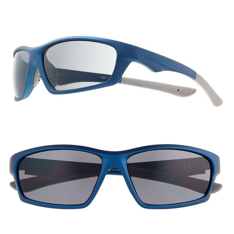 Men's Tek Gear Rectangular Wrap Sunglasses