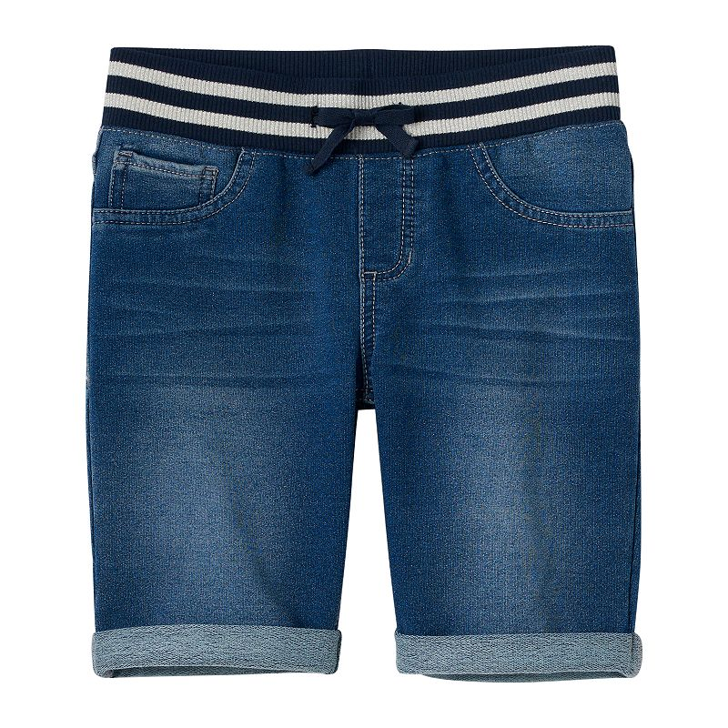 Girls 7-16 & Plus Size SO® Knit Denim Bermuda Shorts