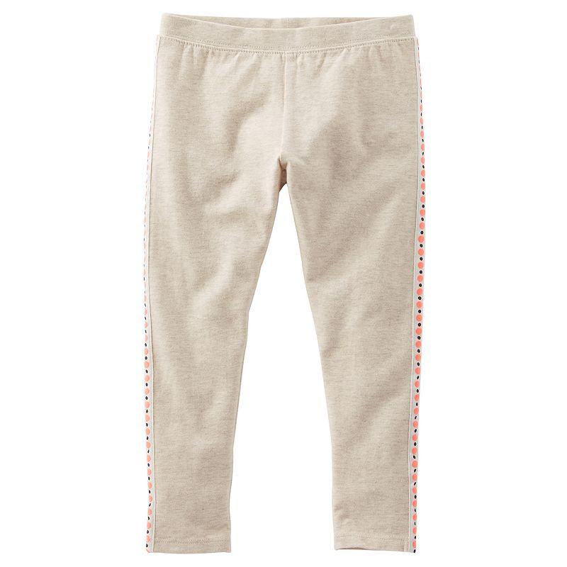 Girls 4-6x OshKosh B'gosh® Side-Stripe Leggings
