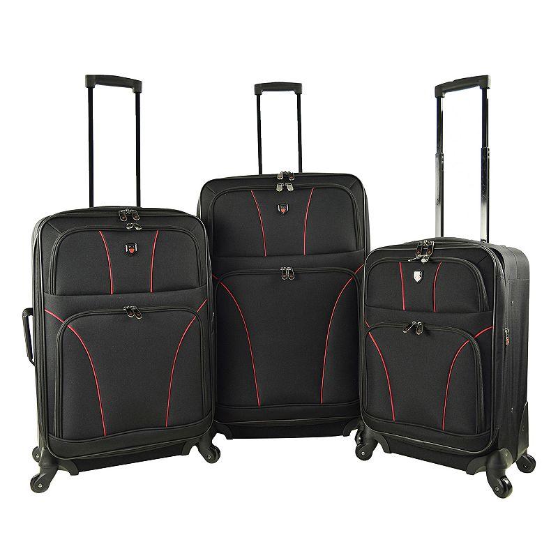 Travelers Club Bowman 2.0 3-Piece Spinner Luggage Set