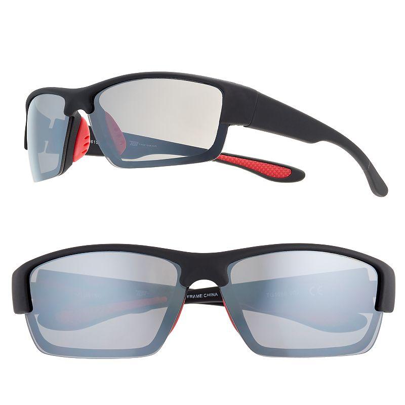 Men's Tek Gear Semirimless Rectangular Sunglasses