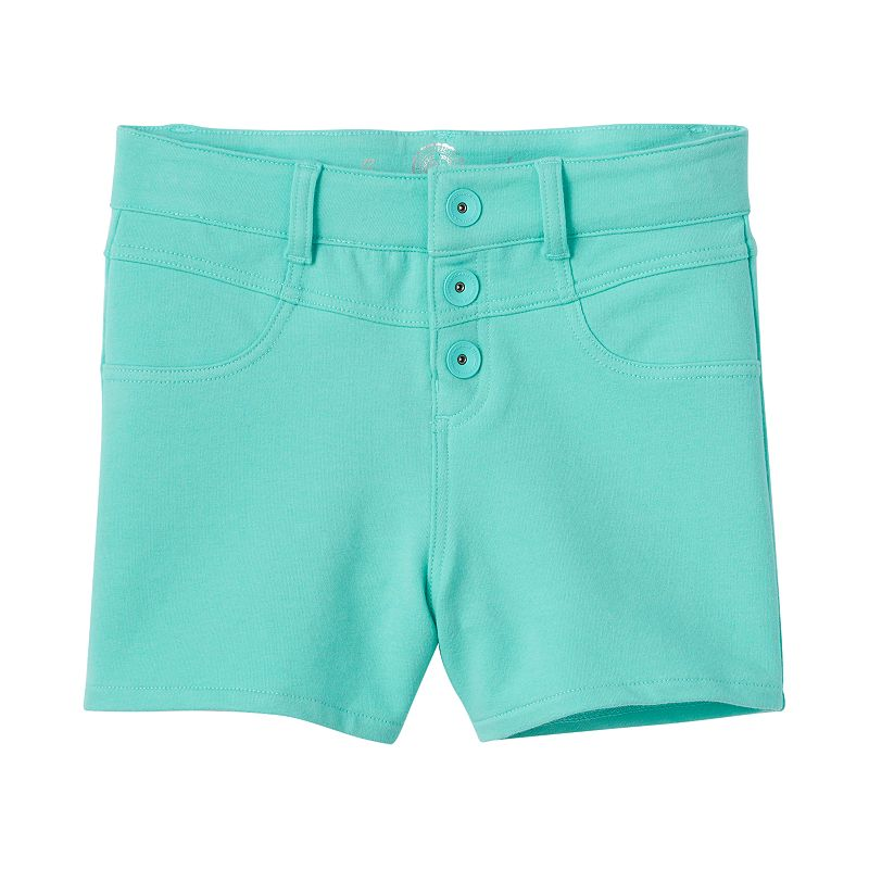 Girls 7-16 & Plus Size SO® High-Waisted Knit Shorts