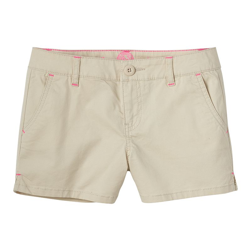 Girls 7-16 SO® Slash Pocket Twill Shorts