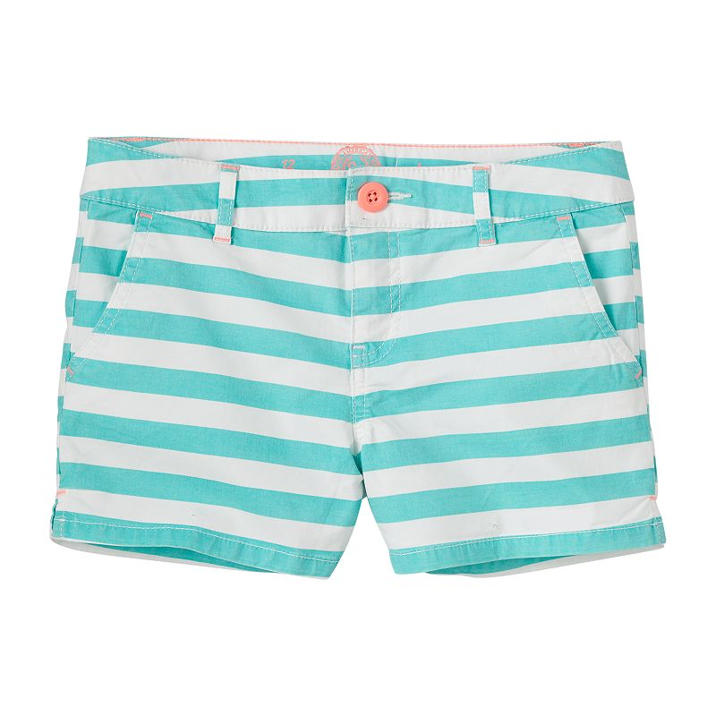 Girls 7-16 SO® Slash Pocket Twill Shorts