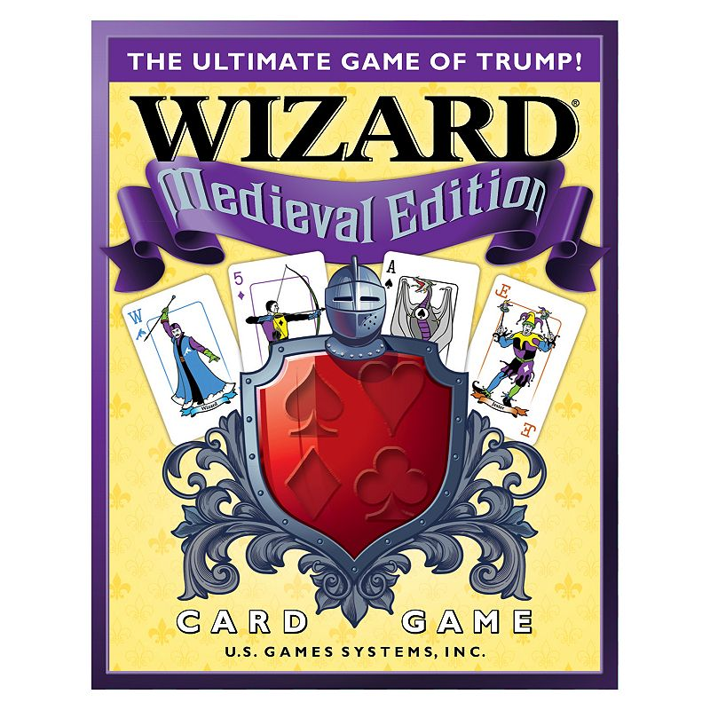 Wizard Medieval Edition Game by U.S. Games Systems