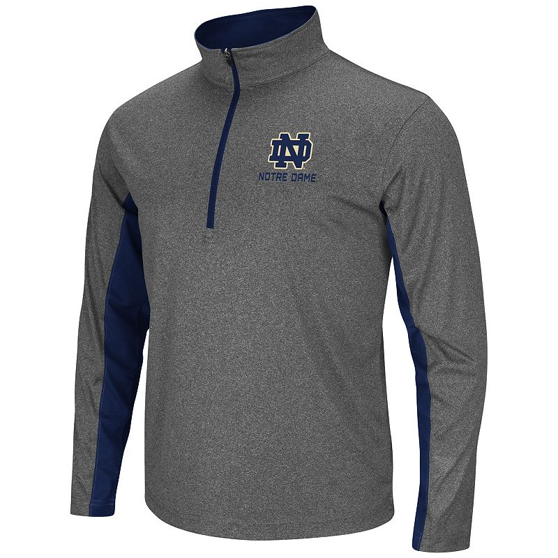 Big & Tall Campus Heritage Notre Dame Fighting Irish Stinger 1/2-Zip Pullover