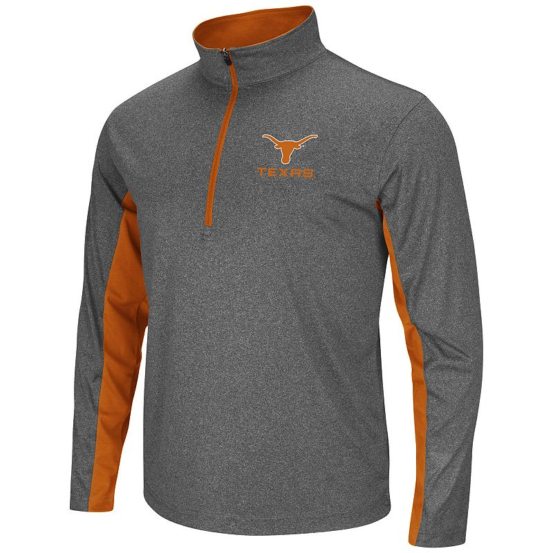 Big & Tall Campus Heritage Texas Longhorns Stinger 1/2-Zip Pullover