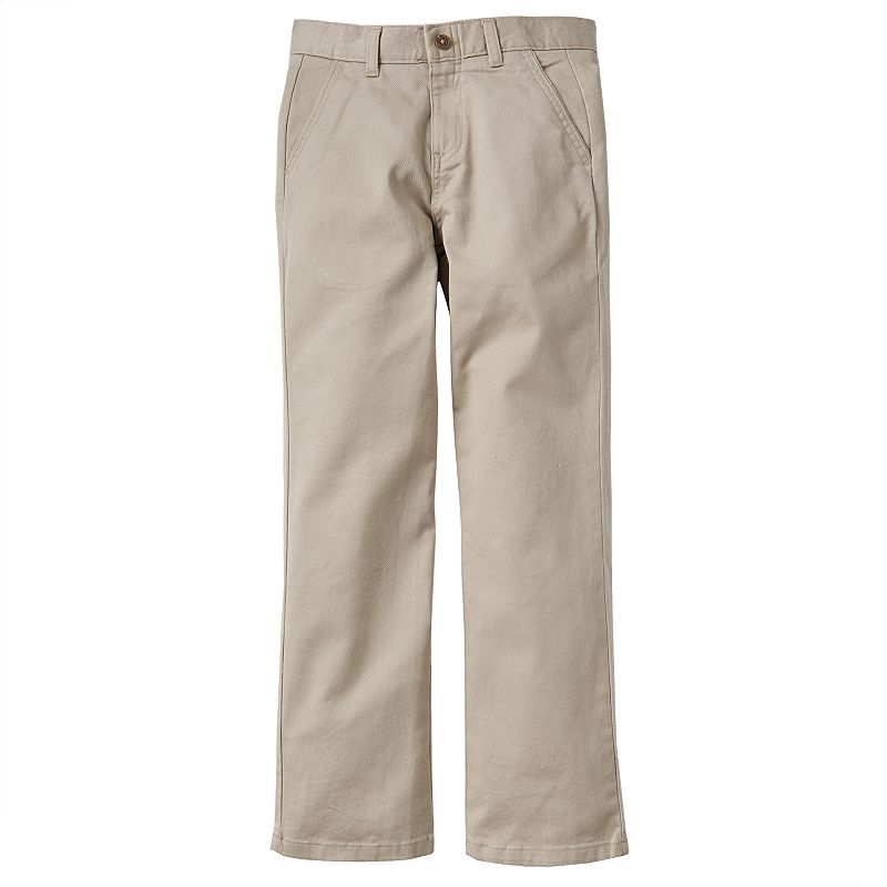 Boys 8-20 Chaps School Uniform Twill Pants